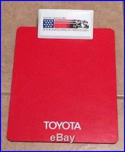 Toyota Grand Prix of the United States at Watkins Glen Vintage 1970s Clipboard