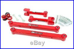 UMI 73-77 GM A-Body Chevelle Rear Upper & Lower Control Arm Kit with Hardware Red