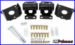 UMI 90071 1978-1988 GM G-Body Heavy Duty SBC Polyurethane Engine Motor Mount Kit