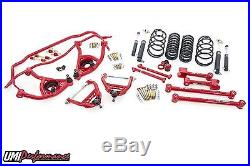 UMI Performance 1968-72 Chevelle Suspension Handling Kit 2 Lower Red Stage 2