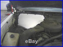UMI Performance 78-88 GM G-Body A/C Heater Delete Panel Black Powder Coat