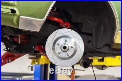 UMI Performance 78-88 GM G-Body C5/C6 Brake Conversion Hubs Bearings + Brackets