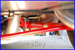 UMI Performance 78-88 GM G-Body Rear Tubular Lower Control Arms RED