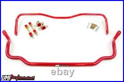 UMI Performance 78-88 Monte Carlo Solid Front & Rear Sway Bar Kit