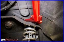 UMI Performance 78-88 Regal El Co G-Body Rear Shock Tower Brace Bolt In Black