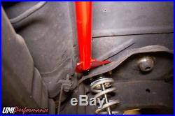 UMI Performance 78-88 Regal El Co G-Body Rear Shock Tower Brace, Bolt In Red