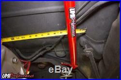 UMI Performance 78-88 Regal El Co G-Body Rear Shock Tower Brace, Bolt In Red