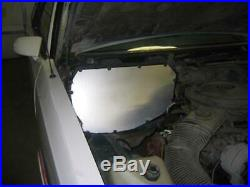 UMI Performance 78-88 Regal G-Body AC/Heater Box Delete Panel Black Powdercoat