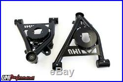 UMI Performance 78-88 Regal G-Body Lower Front Control Arms Poly Bushings Black