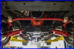 UMI Performance 78-88 Regal G-Body Lower Front Control Arms Poly Bushings Red