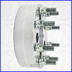 USA MADE 5 Lug Vehicle to 8 Lug Wheel Adapters / 2 Spacers 5x4.5 to 8x170