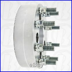USA MADE 5 Lug Vehicle to 8 Lug Wheel Adapters / 2 Spacers 5x4.5 to 8x6.5