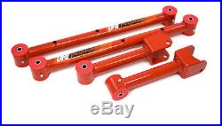 Umi Performance 1978 1988 Gm G Body Tubular Upper Lower Control Arms Red