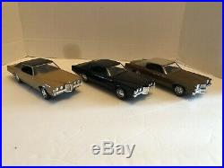VINTAGE 1970 Pontiac Grand Prix promo, in rare all black color. VERY NICE