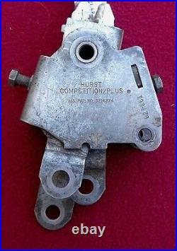 Very Nice Vintage Hurst 4 Speed Competition Plus Shifter & Ball #627861
