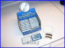 Vintage 1960's nos display case Auto glass Fuses service auto gm street rat rod