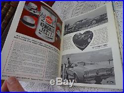 Vintage 1966 Player's Grand Prix of the United States Watkins Glen Race Program