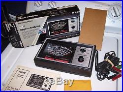 Vintage 1970' s nos Sears auto Engine tune Tach gauge meter volt kit gm rat rod