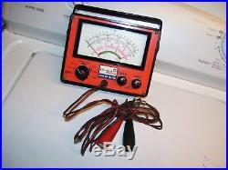 Vintage 1970s AC DELCO GM auto engine Tester meter gauge gm street rat hot rods