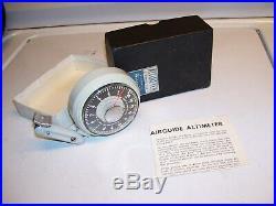 Vintage 50s Automobile nos in box Altimeter gauge gm ford chevy rat rod pontiac