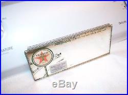 Vintage 50s TEXACO service station visor mirror gm ford chevy rat rod pontiac