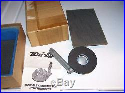 Vintage 50s UNISYN nos Carburetor tuneup auto gm pontiac ford chevy rat hot rod