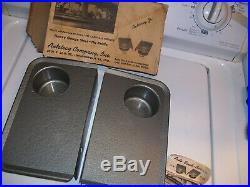 Vintage 50s Window Car hop Drive in auto trays gm pontiac ford chevy nos hot rod