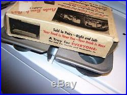 Vintage 50s Window Drive in car hop auto trays gm pontiac ford chevy nos hot rod