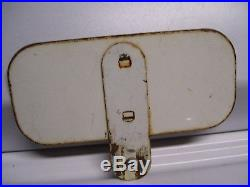 Vintage 50s YEH MAN license plate topper gm chevy ford harley indian reflector