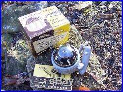 Vintage 50s nos Airguide dash compass gauge gm ford chevy rat rod pontiac nash