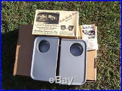 Vintage 50s nos Autotray window snack bar trays gm ford chevy rat rod pontiac