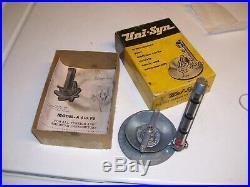 Vintage 50s nos UNISYN Carburetor tuneup auto gm pontiac ford chevy rat hot rod