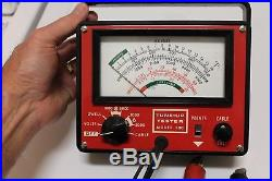 Vintage 60 70s tune-up meter accessory gm ford chevy ss rat rod pontiac