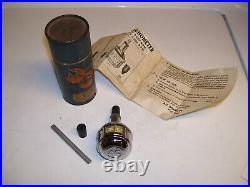 Vintage 60s Chrome tool Tachometer delco auto accessory gm street hot rod parts
