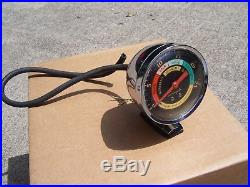 Vintage 60s chrome Automobile dash Vacuum gauge gm ford chevy rat rod pontiac ss