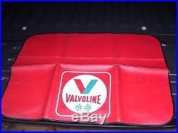 Vintage 60s nos VALVOLINE motor oil promo fender auto accessory tool gm car kit