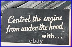 Vintage Antique Car Truck tester