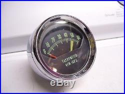 Vintage GM Chevy 1960s Tachometer gauge 1962 1963 1964 impala ss big block 454