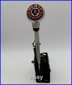 Vintage HURST QUARTER STICK SHIFTER Automatic & Reverse with Pabst Breweries knob