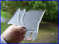 Vintage License Plate topper HARLEY KNUCKLEHEAD FLATHEAD PANHEAD BOBBER HOT ROD