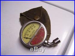 Vintage MOTO METER automobile tire part gauge gm ford dodge chevy rat rod mopar