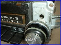 Vintage Pontiac Accessory AM FM Delco 8 Track Stereo Radio Original GTO Lemans