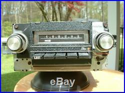 Vintage Pontiac Accessory Delco AM 8 Track Stereo Radio Original GTO Lemans GM