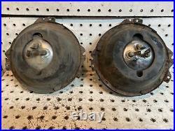 Vintage Pontiac Chevy Power Beam headlight Bulb Bucket Ring Chevelle GTO Lemans