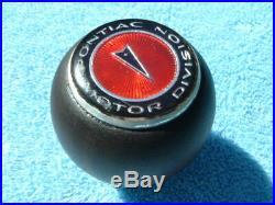 Vintage Pontiac Lemans GTO Firebird Walnut Factory Hurst Shifter Shift Knob Ball
