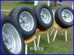 Vintage Pontiac Rally II Wheel Center Cap 15x7 15x8 Goodyear Eagle GT Tire GTO