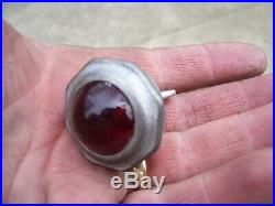 Vintage Reflector Glass plate HARLEY KNUCKLEHEAD FLATHEAD PANHEAD BOBBER HOT ROD