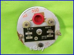 Vintage SUN Tachometer Tach Rat Rod D 100 Truck Power Wagon Mopar Part #2906894