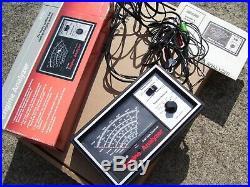 Vintage Sears nos engine Tune service tester gauge meter auto gm street rat rod