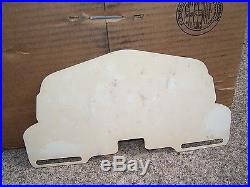 Vintage WW2 Remember Pearl Harbor auto license plate topper kit gm car old chevy